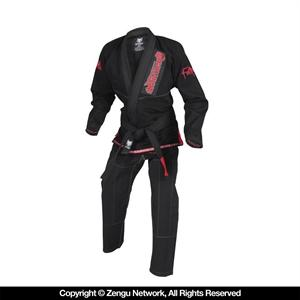 Gameness Feather Black BJJ Gi